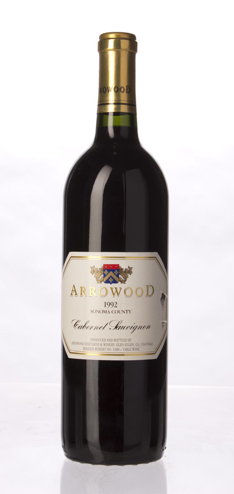 Arrowood Cabernet Sauvignon Sonoma County 1992,  (WS92) from The BPW - Merchants of rare and fine wines.