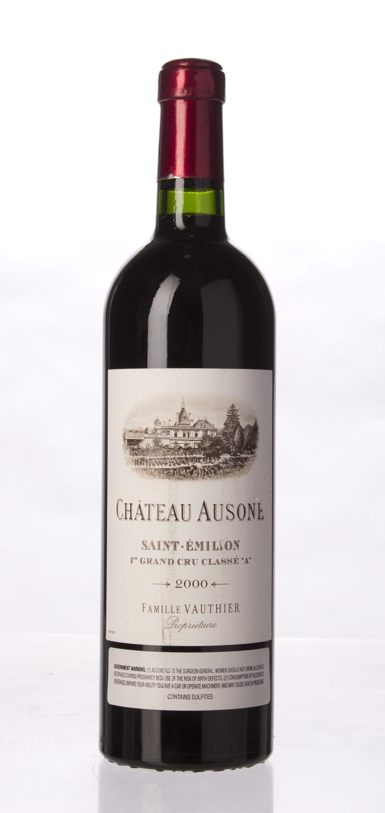 Ausone 2000, 750mL (WA98+, ST97, WS97) from The BPW - Merchants of rare and fine wines.