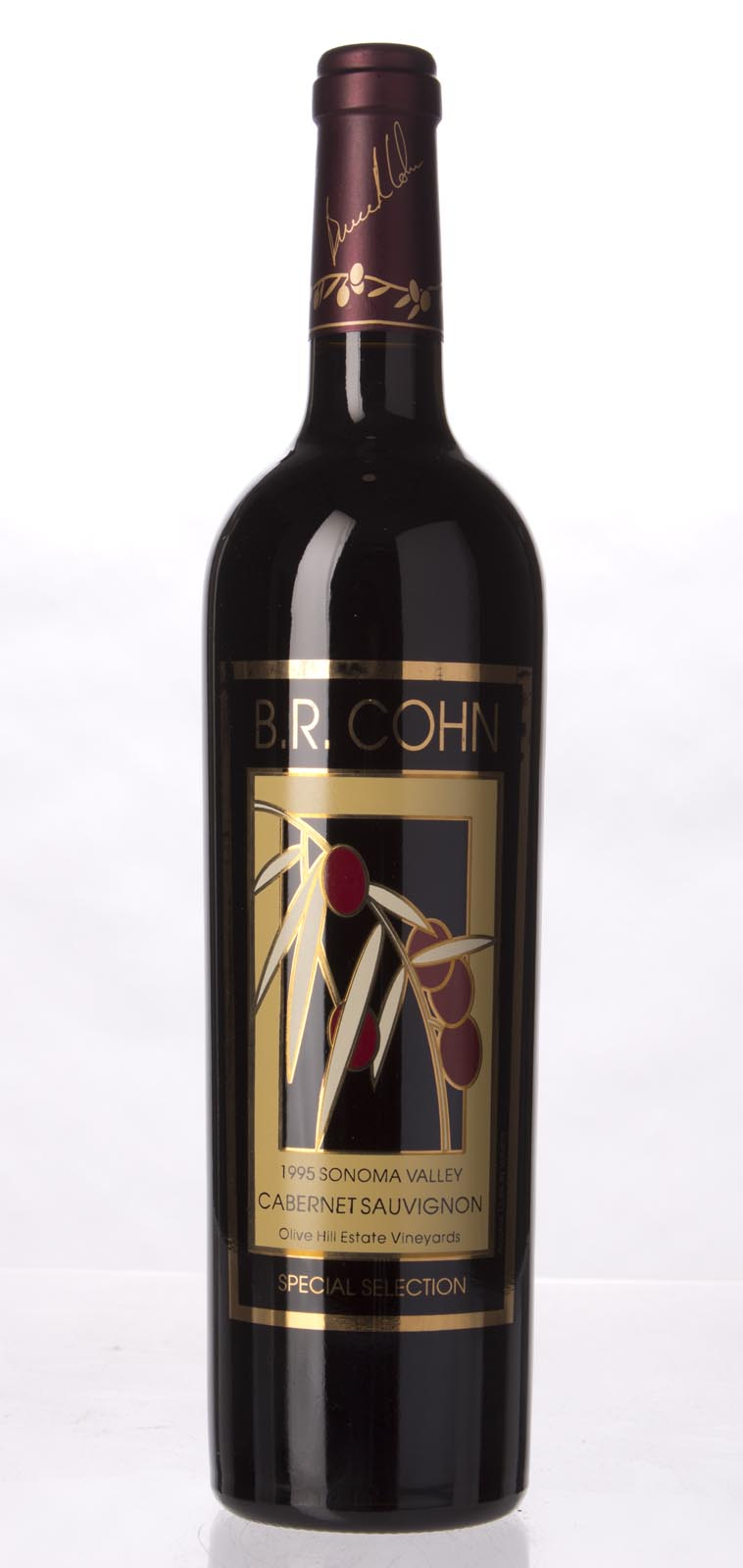B.R. Cohn Cabernet Sauvignon Olive Hill Vineyard Special Selection 1995, 750mL () from The BPW - Merchants of rare and fine wines.
