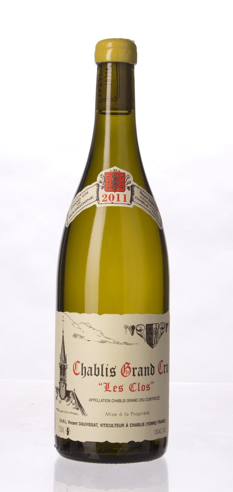 Domaine Vincent Dauvissat Chablis les Clos 2011, 750mL (BH93-95, ST94-96) from The BPW - Merchants of rare and fine wines.