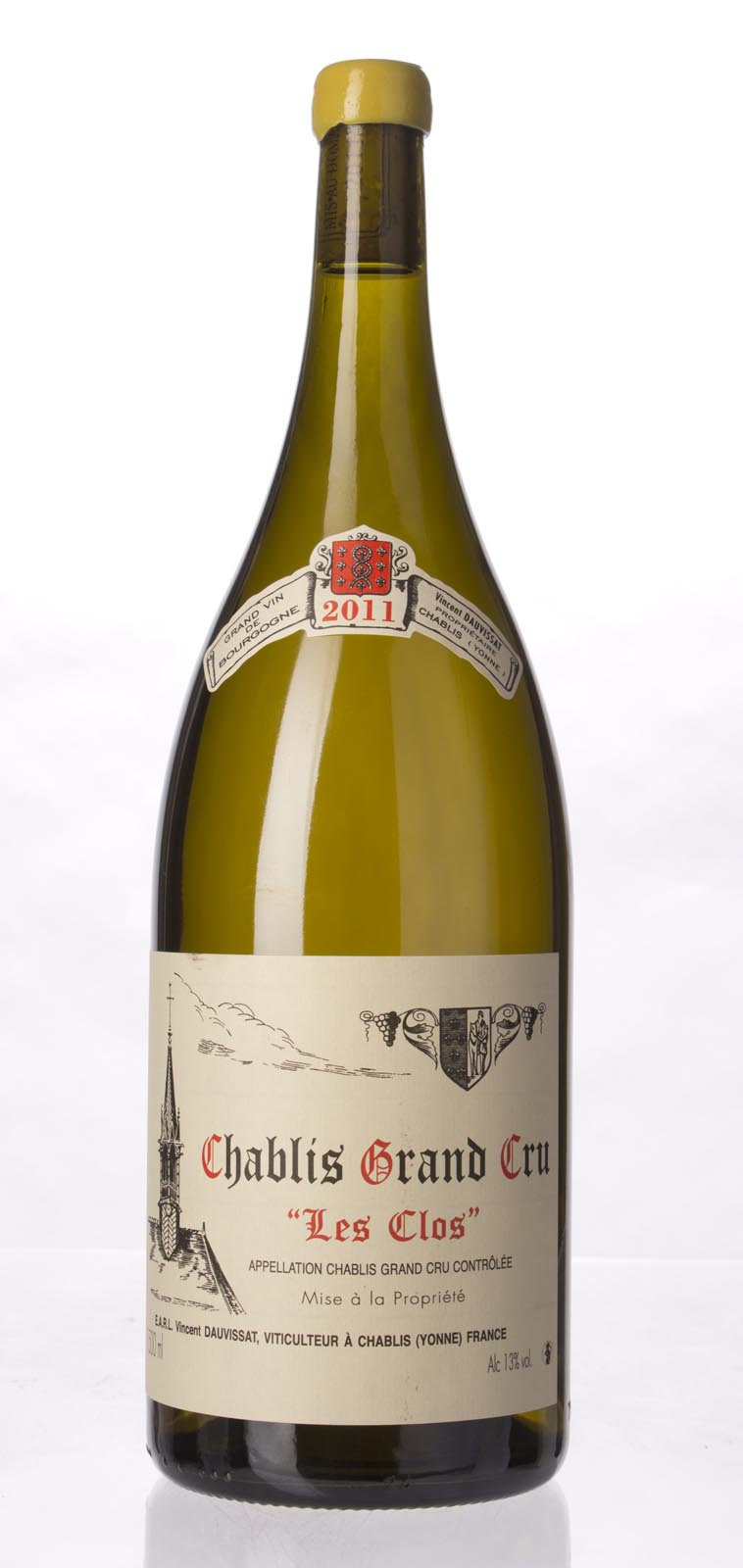 Domaine Vincent Dauvissat Chablis les Clos 2011, 1.5L (BH93-95, ST94-96) from The BPW - Merchants of rare and fine wines.