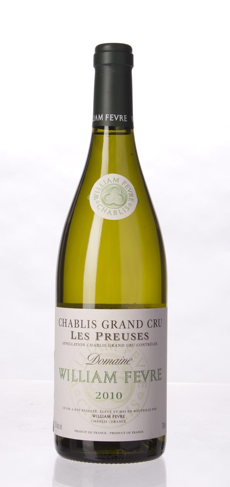 Domaine William Fevre Chablis les Preuses 2010, 750ml (BH97, WA97, ST96+) from The BPW - Merchants of rare and fine wines.