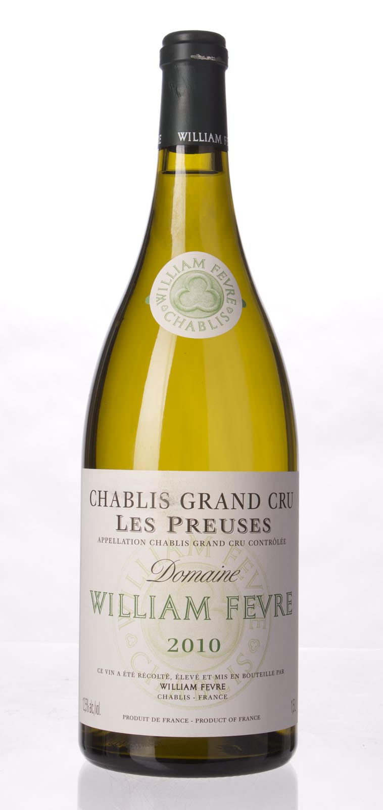 Domaine William Fevre Chablis les Preuses 2010, 1.5L (BH97, WA97, ST96+) from The BPW - Merchants of rare and fine wines.