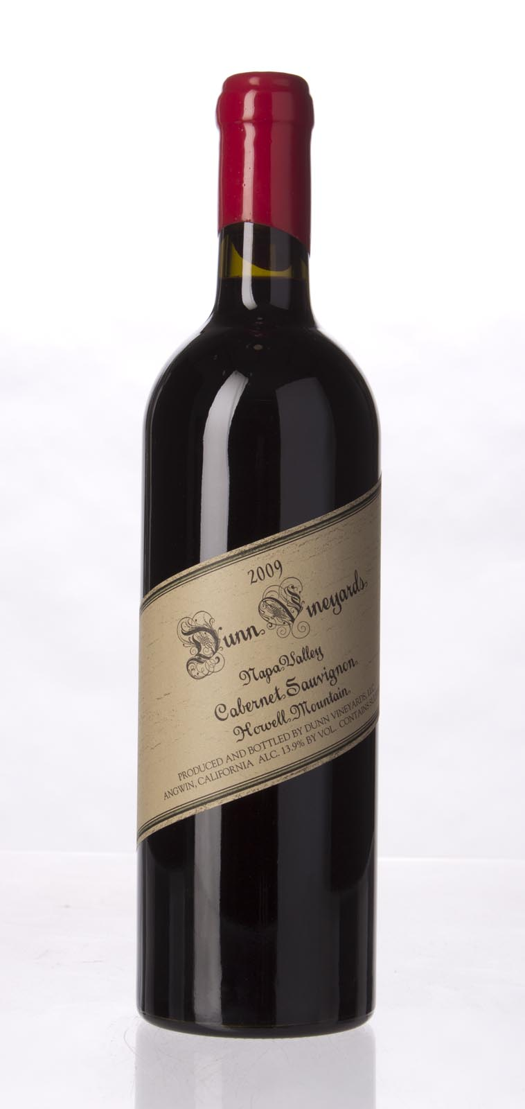 Dunn Cabernet Sauvignon Howell Mountain 2009, 750ml (WA96+) from The BPW - Merchants of rare and fine wines.