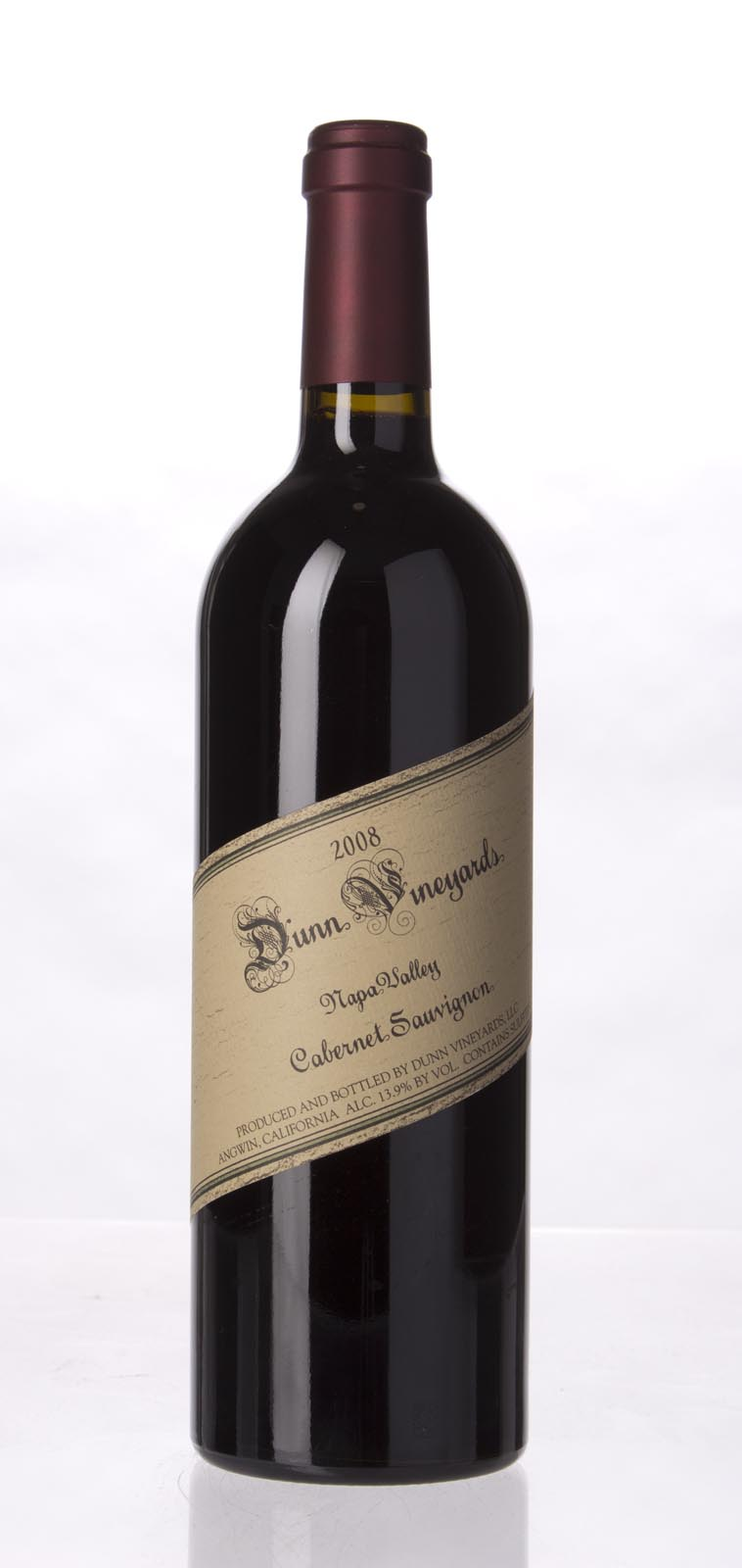 Dunn Cabernet Sauvignon Napa Valley 2008, 750mL (WA96) from The BPW - Merchants of rare and fine wines.