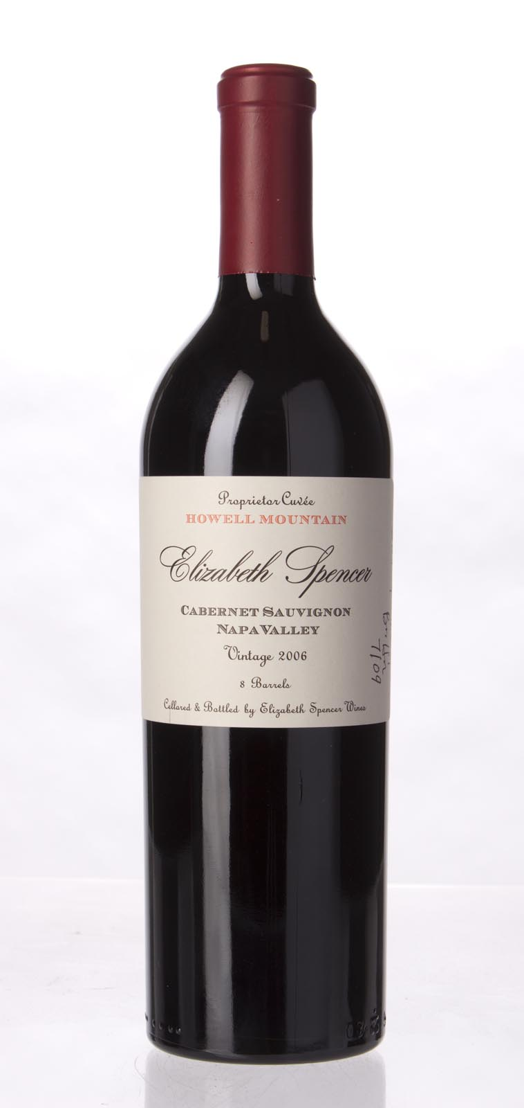 Elizabeth Spencer Cabernet Sauvignon Howell Mountain 2006, 750mL () from The BPW - Merchants of rare and fine wines.