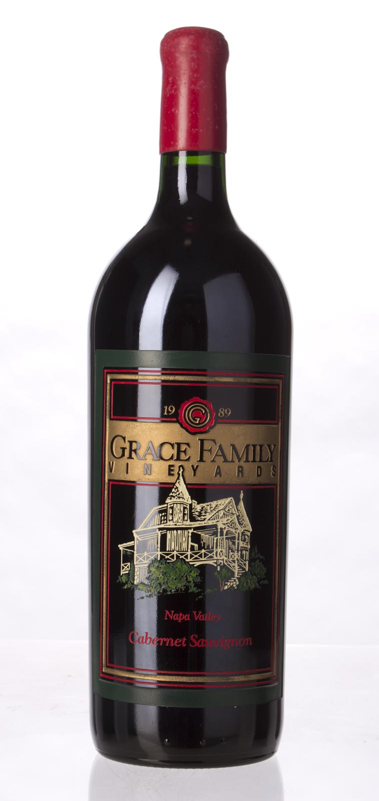 Grace Family Vineyard Cabernet Sauvignon 1989, 1.5L () from The BPW - Merchants of rare and fine wines.
