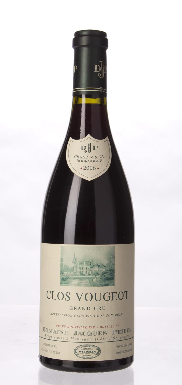 Jacques Prieur Clos Vougeot 2006, 750mL (ST92+, WS92) from The BPW - Merchants of rare and fine wines.