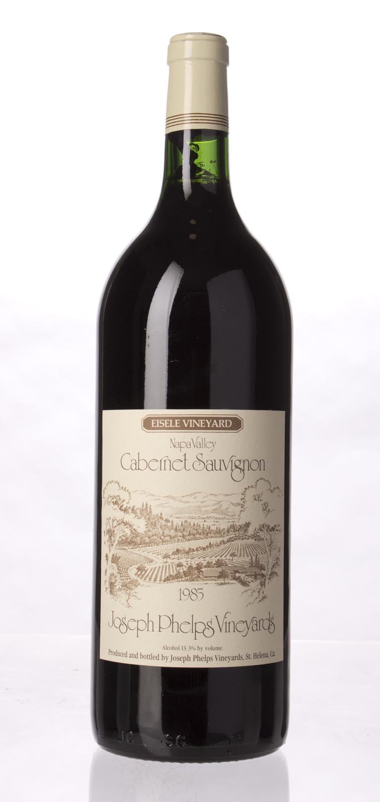 Joseph Phelps Cabernet Sauvignon Eisele Vineyard 1985, 1.5L (WA93) from The BPW - Merchants of rare and fine wines.