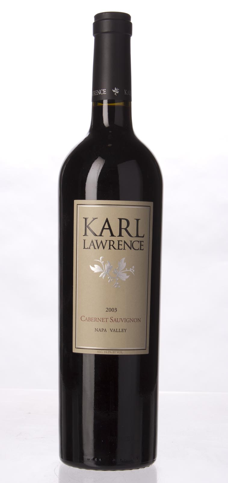 Karl Lawrence Cabernet Sauvignon Napa Valley 2003, 750mL (WA90, WS91) from The BPW - Merchants of rare and fine wines.
