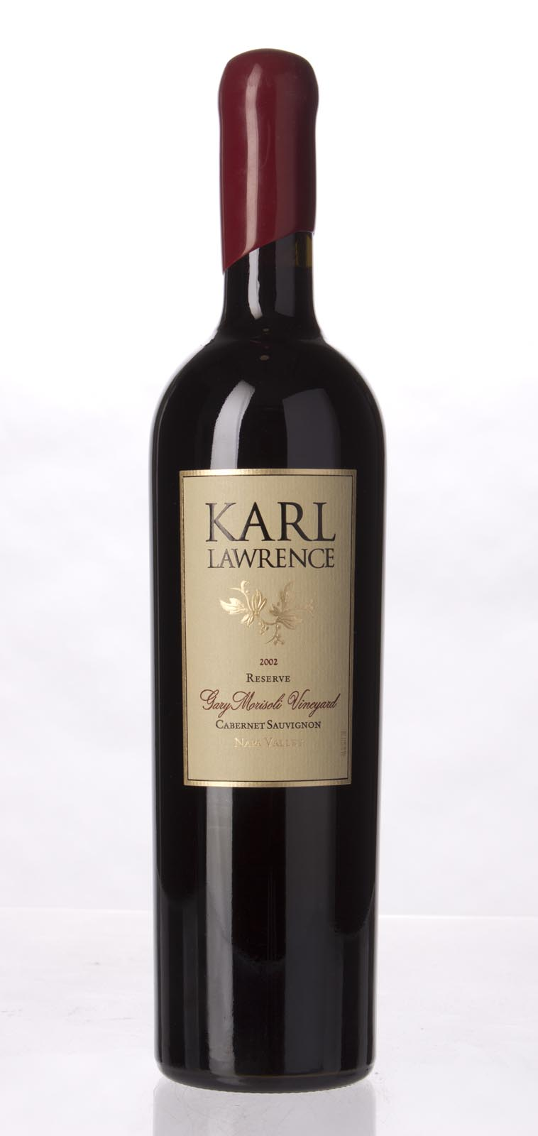 Karl Lawrence Cabernet Sauvignon Reserve Gary Morisoli Vineyard 2002, 750mL () from The BPW - Merchants of rare and fine wines.