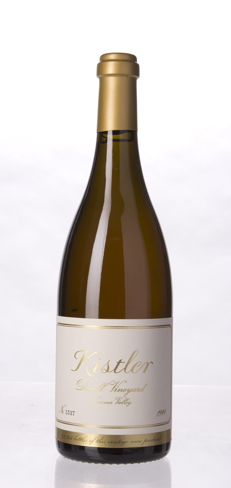 Kistler Chardonnay Durell Vineyard 1999, 750mL (WA96, ST94) from The BPW - Merchants of rare and fine wines.