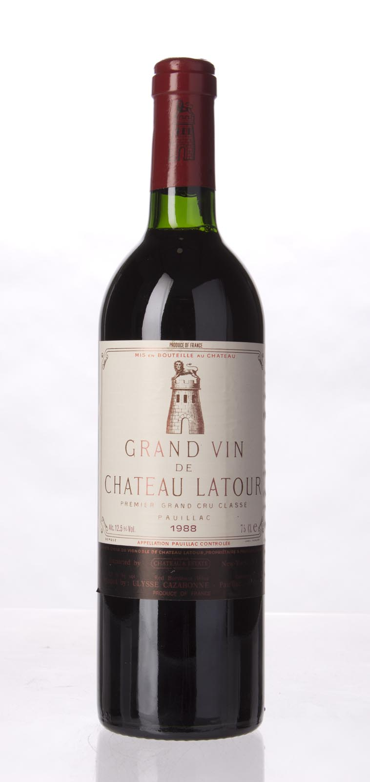 Latour 1988, 750mL (WS96) from The BPW - Merchants of rare and fine wines.