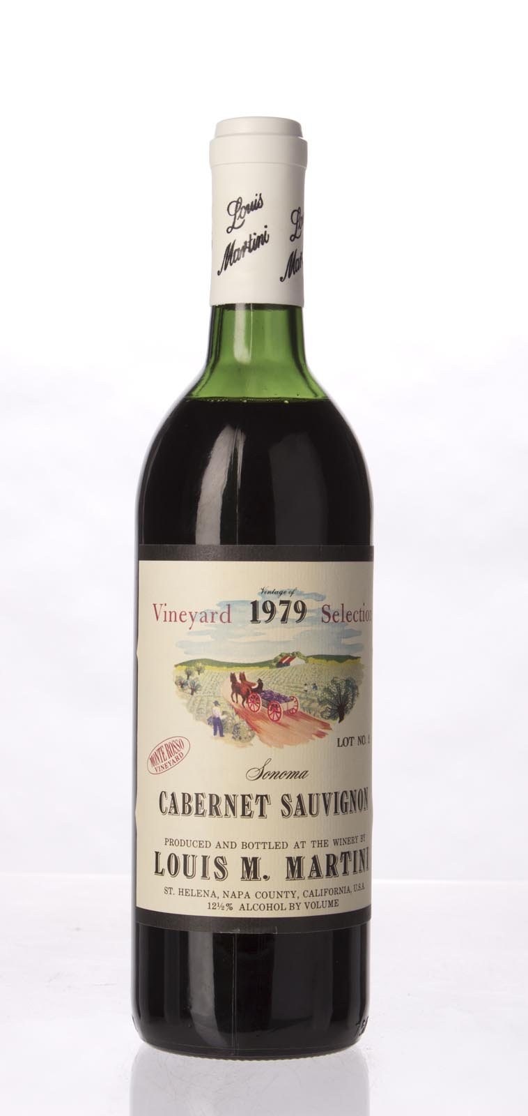 Louis Martini Cabernet Sauvignon Monte Rosso Select Lot #2 1979, 750mL () from The BPW - Merchants of rare and fine wines.
