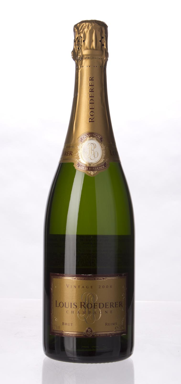 Louis Roederer Brut 2004, 750mL (WA90, ST90, WS90) from The BPW - Merchants of rare and fine wines.