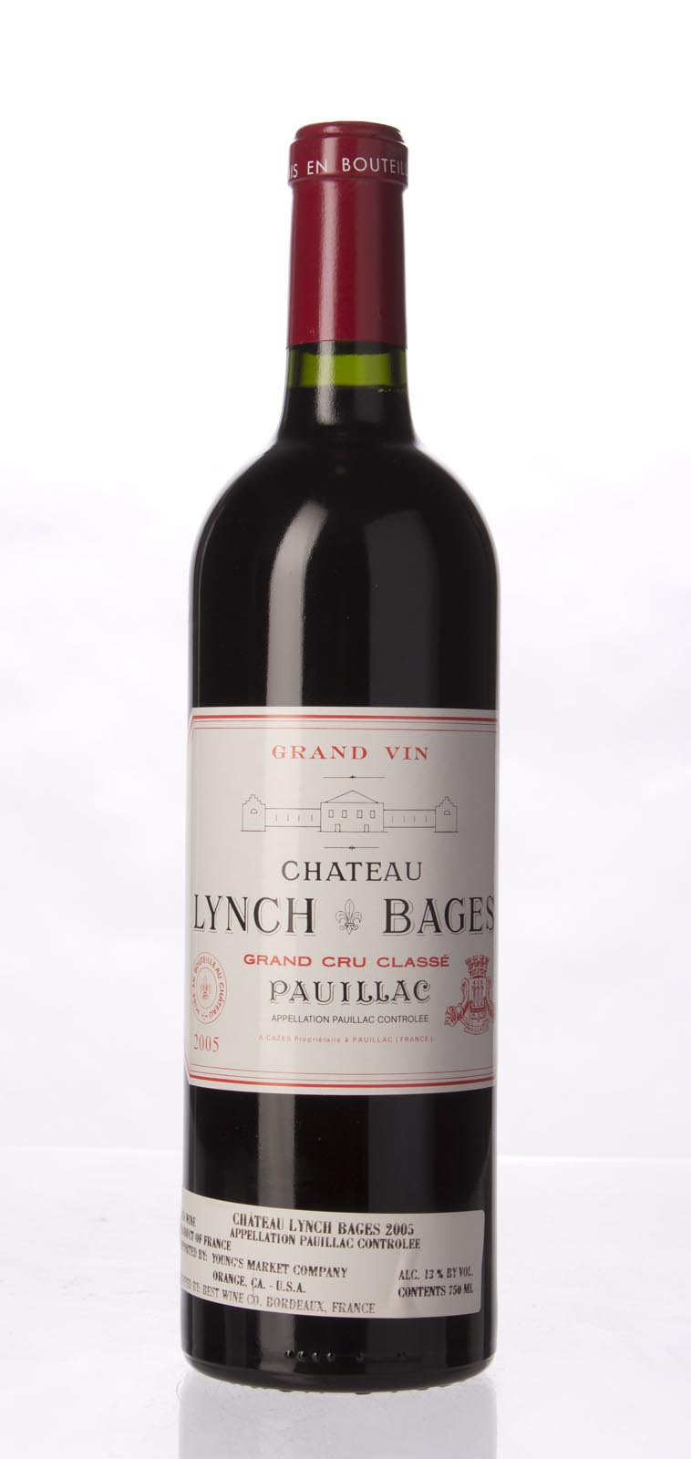 Lynch Bages 2005,  (WA94+, ST93+, WS93) from The BPW - Merchants of rare and fine wines.