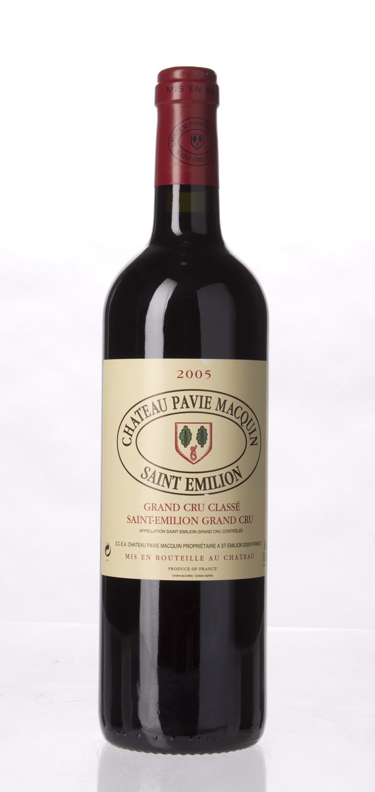 Pavie Macquin 2005, 750mL (WA98, WS96) from The BPW - Merchants of rare and fine wines.