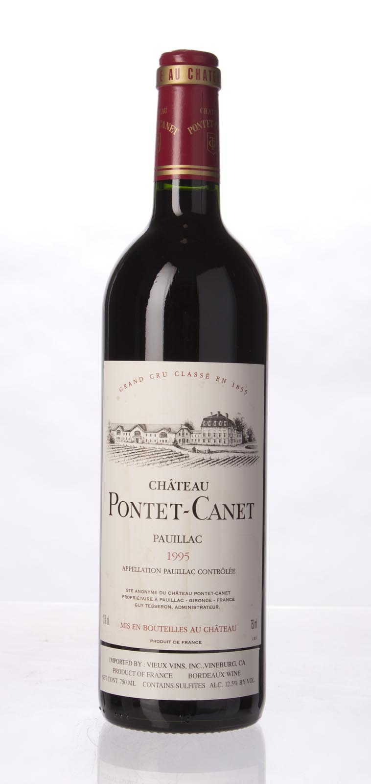 Pontet Canet 1995, 750mL (WS94) from The BPW - Merchants of rare and fine wines.