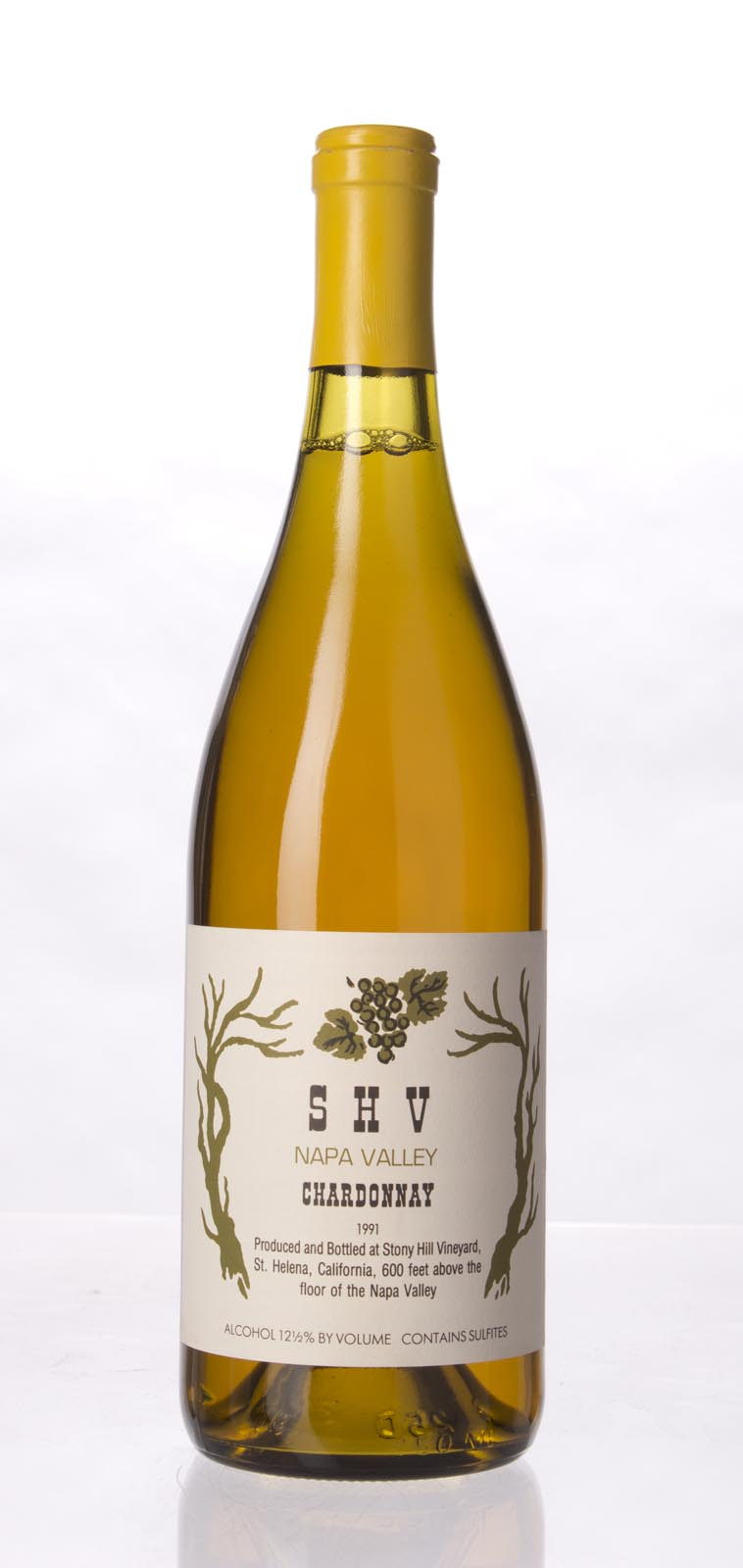 Stony Hill Vineyard Chardonnay SHV 1991, 750mL () from The BPW - Merchants of rare and fine wines.