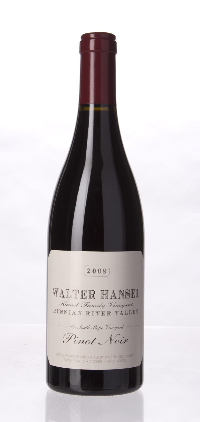 Walter Hansel Winery Pinot Noir The South Slope 2009, 750mL (ST93) from The BPW - Merchants of rare and fine wines.