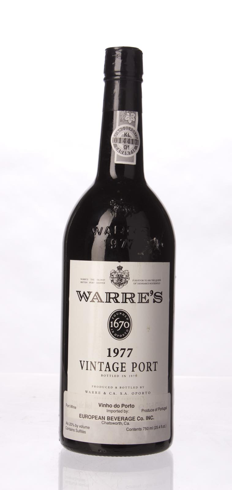 Warres Vintage Port 1977, 750mL (WA92, WS93) from The BPW - Merchants of rare and fine wines.