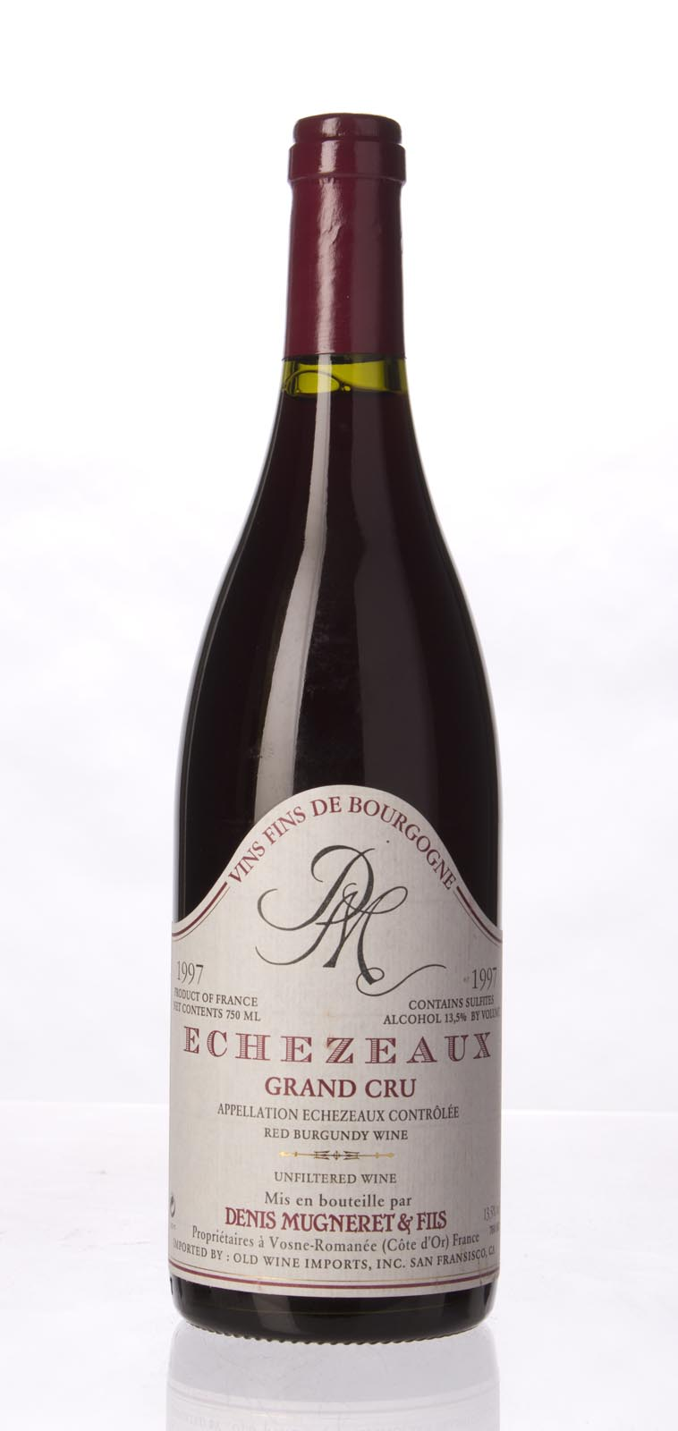 Domaine Denis Mugneret Echezeaux 1997, 750mL () from The BPW - Merchants of rare and fine wines.