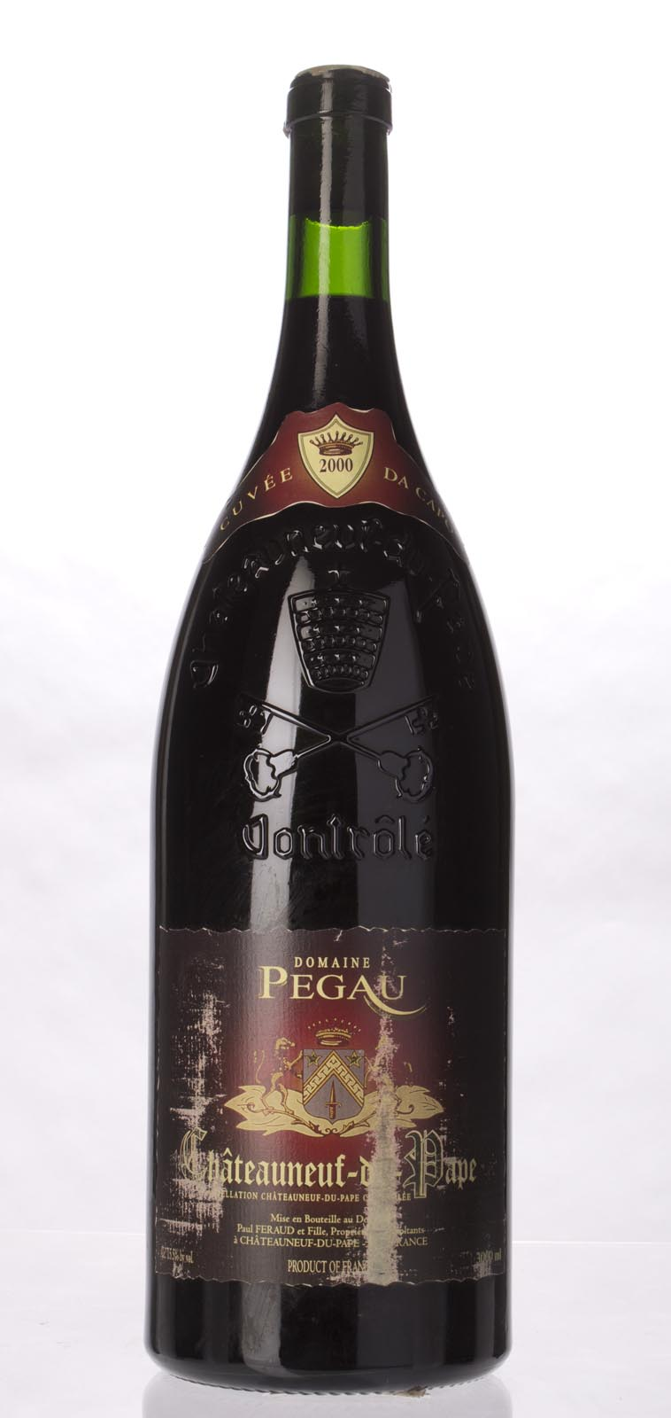 Domaine du Pegau Chateauneuf du Pape Cuvee da Capo 2000, 3L (WA100, WS97) from The BPW - Merchants of rare and fine wines.