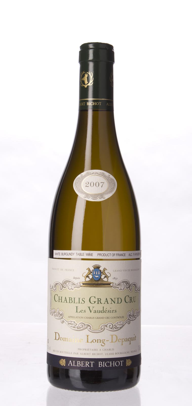 Domaine Long Depaquit (Albert Bichot) Chablis Vaudesir 2007, 750mL (BH92) from The BPW - Merchants of rare and fine wines.