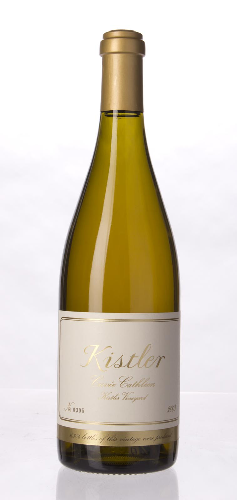 Kistler Chardonnay Cuvee Cathleen 2003, 750mL (WA98-100) from The BPW - Merchants of rare and fine wines.