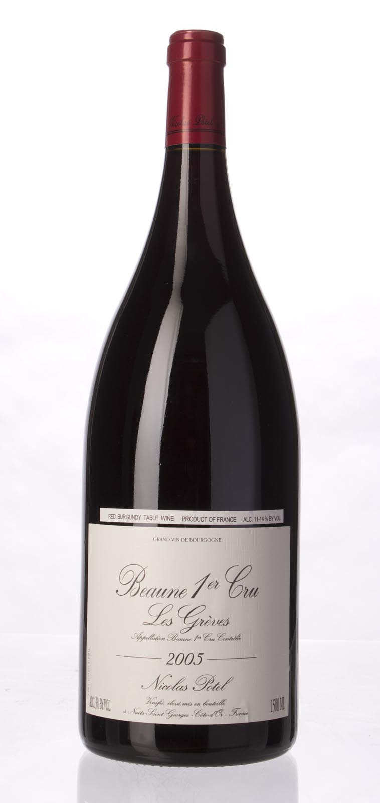 Nicolas Potel Beaune Greves 2005, 1.5L (WA92) from The BPW - Merchants of rare and fine wines.