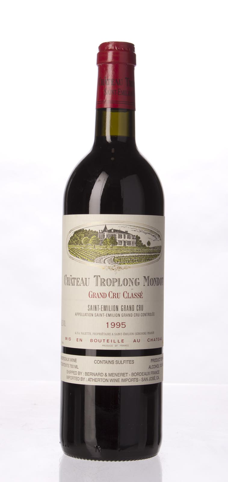 Troplong Mondot 1995, 750mL (WA92, ST91, WS92) from The BPW - Merchants of rare and fine wines.