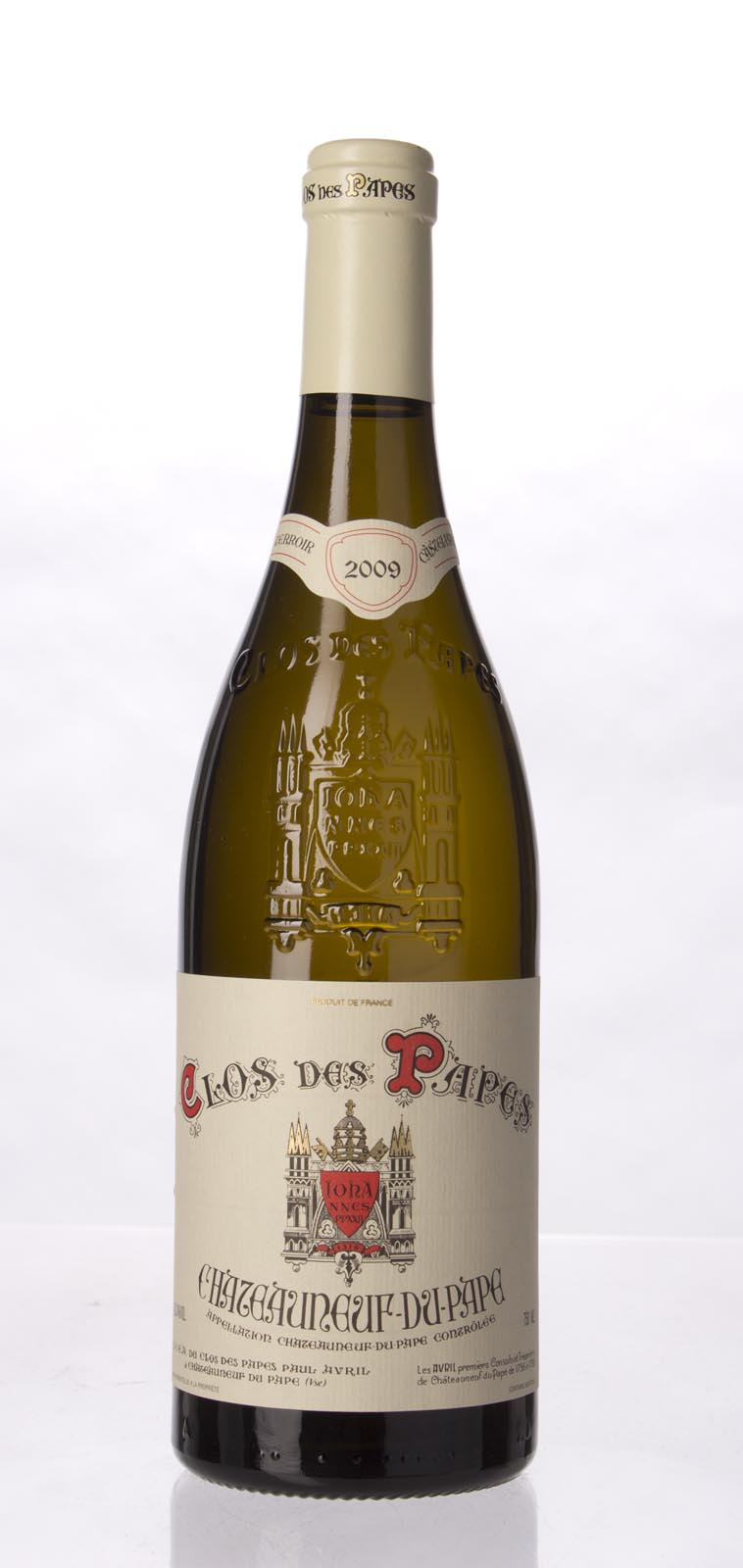 Clos des Papes Chateauneuf du Pape Blanc 2009, 750mL (WA94, WS95) from The BPW - Merchants of rare and fine wines.