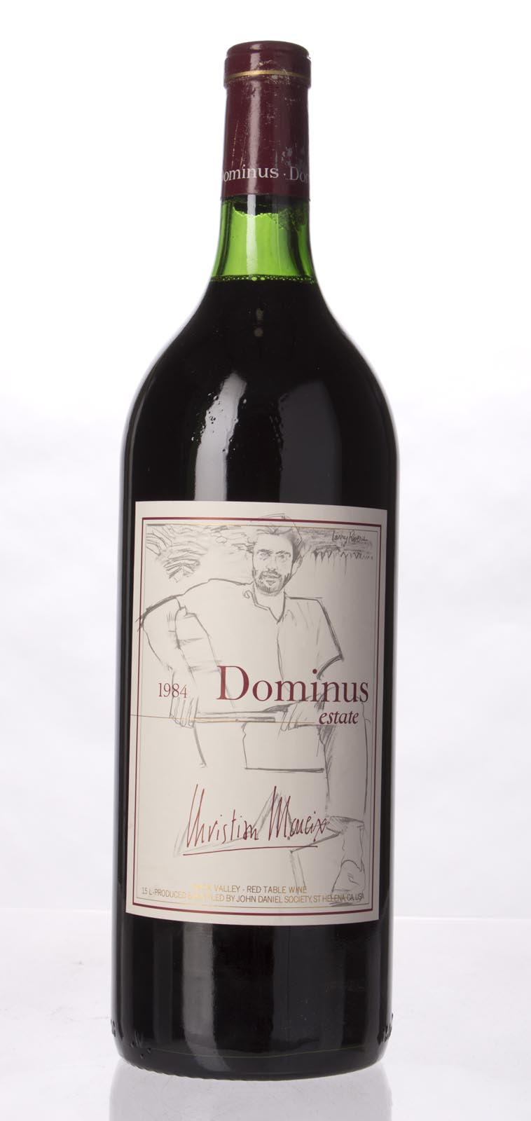 Dominus Proprietary Red Wine 1984, 1.5L (WA92) from The BPW - Merchants of rare and fine wines.