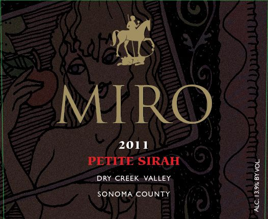 Miro Petite Sirah Dry Creek Valley 2011, 750ml () from The BPW - Merchants of rare and fine wines.