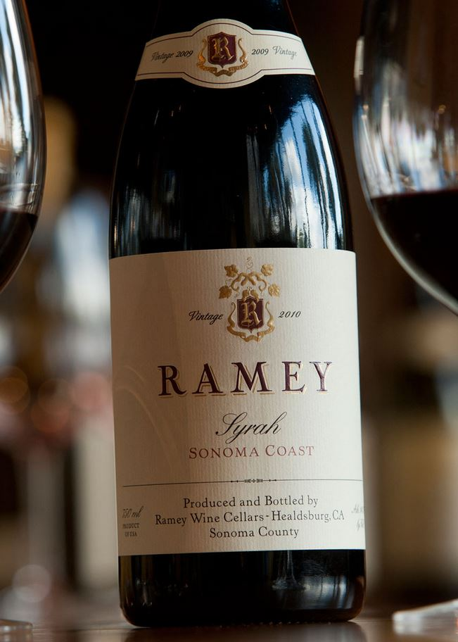 Ramey Syrah Sonoma Coast 2010, 750ml (WA94) from The BPW - Merchants of rare and fine wines.