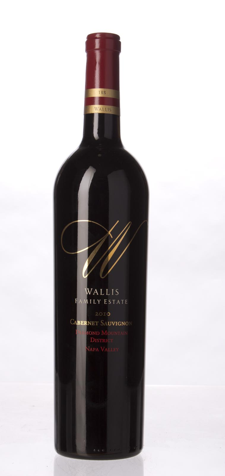Wallis Family Estate Cabernet Sauvignon Diamond Mountain 2010,  () from The BPW - Merchants of rare and fine wines.