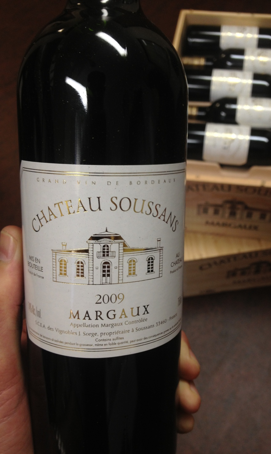 Chateau Soussans 2009,  () from The BPW - Merchants of rare and fine wines.