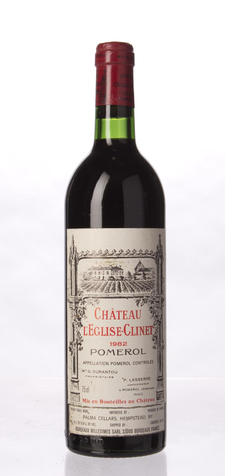 L`Eglise Clinet 1982, 750ml (WS92) from The BPW - Merchants of rare and fine wines.