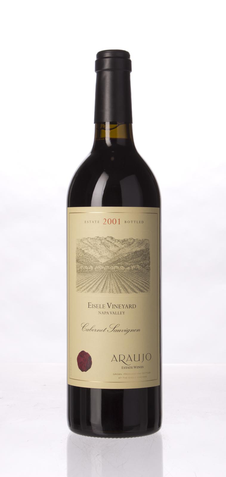 Araujo Estate Cabernet Sauvignon Eisele Vineyard 2001,  (WA99) from The BPW - Merchants of rare and fine wines.