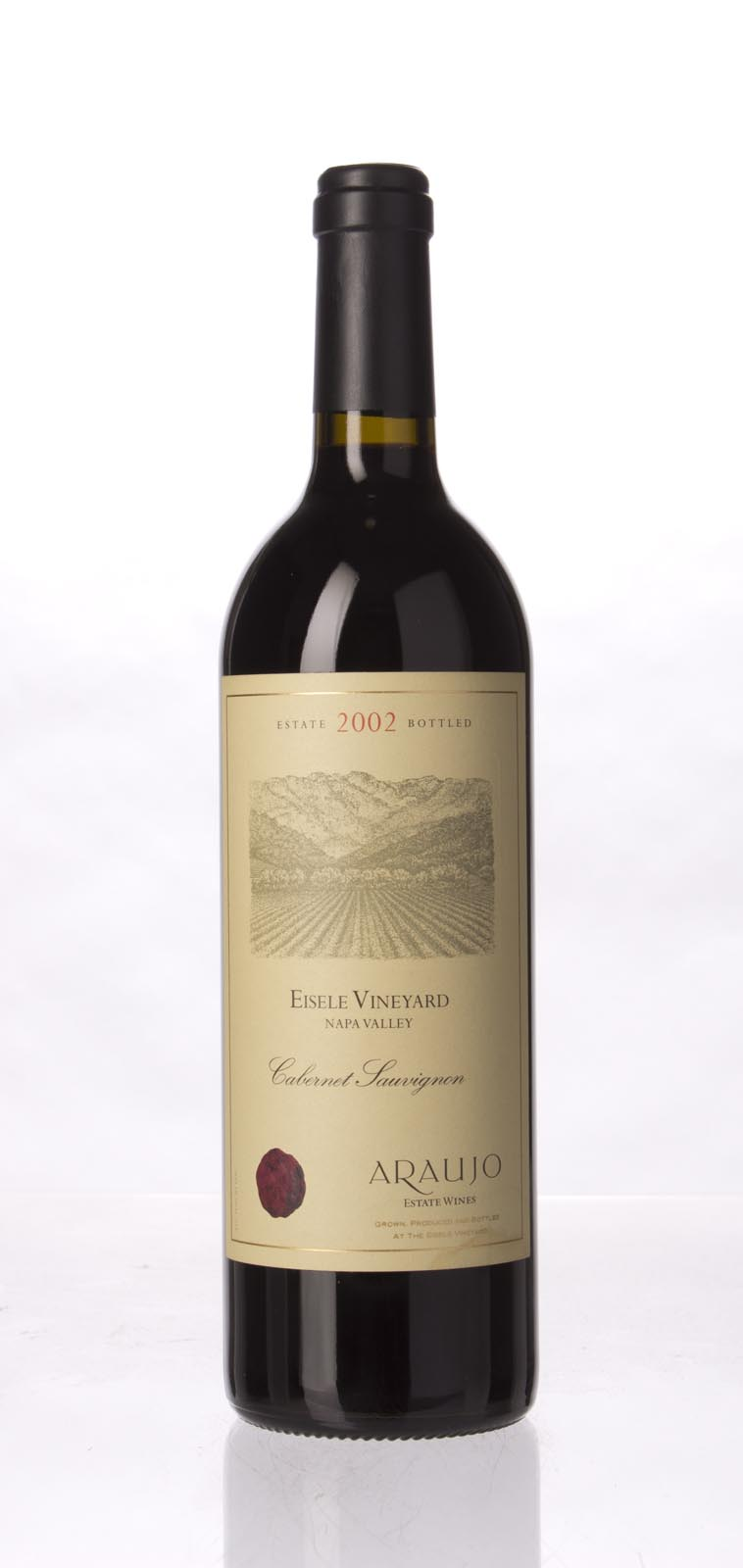 Araujo Estate Cabernet Sauvignon Eisele Vineyard 2002, 750mL (WA99) from The BPW - Merchants of rare and fine wines.