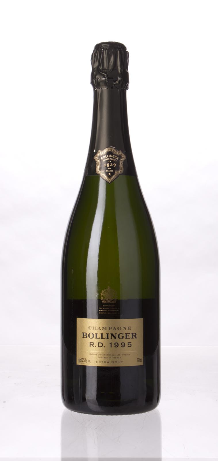 Bollinger RD 1995, 750mL (WS95) from The BPW - Merchants of rare and fine wines.