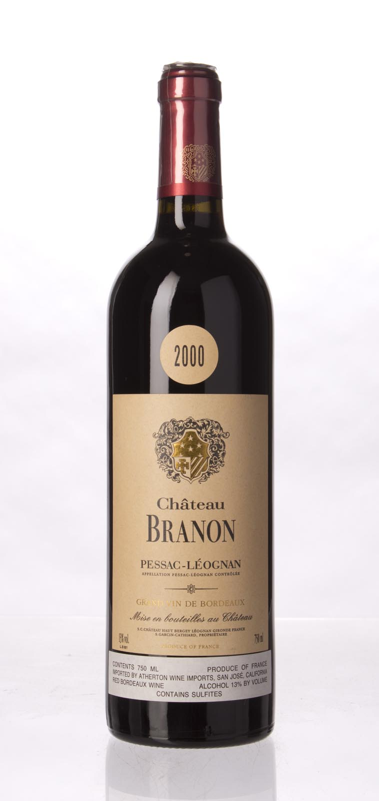 Branon 2000, 750mL (WA97) from The BPW - Merchants of rare and fine wines.
