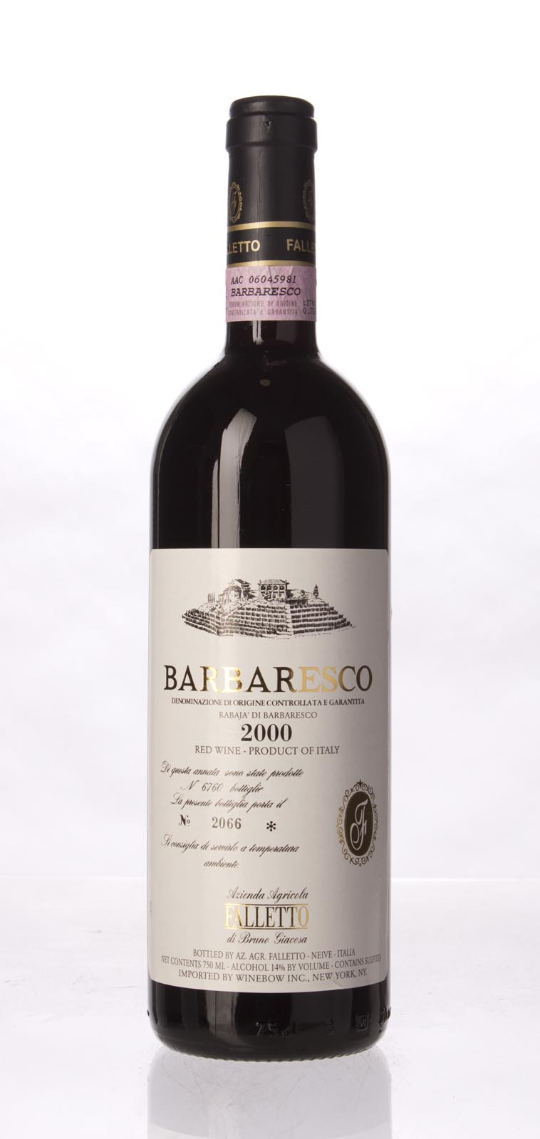 Bruno Giacosa Barbaresco Rabaja 2000, 750mL (WA96, WS96) from The BPW - Merchants of rare and fine wines.