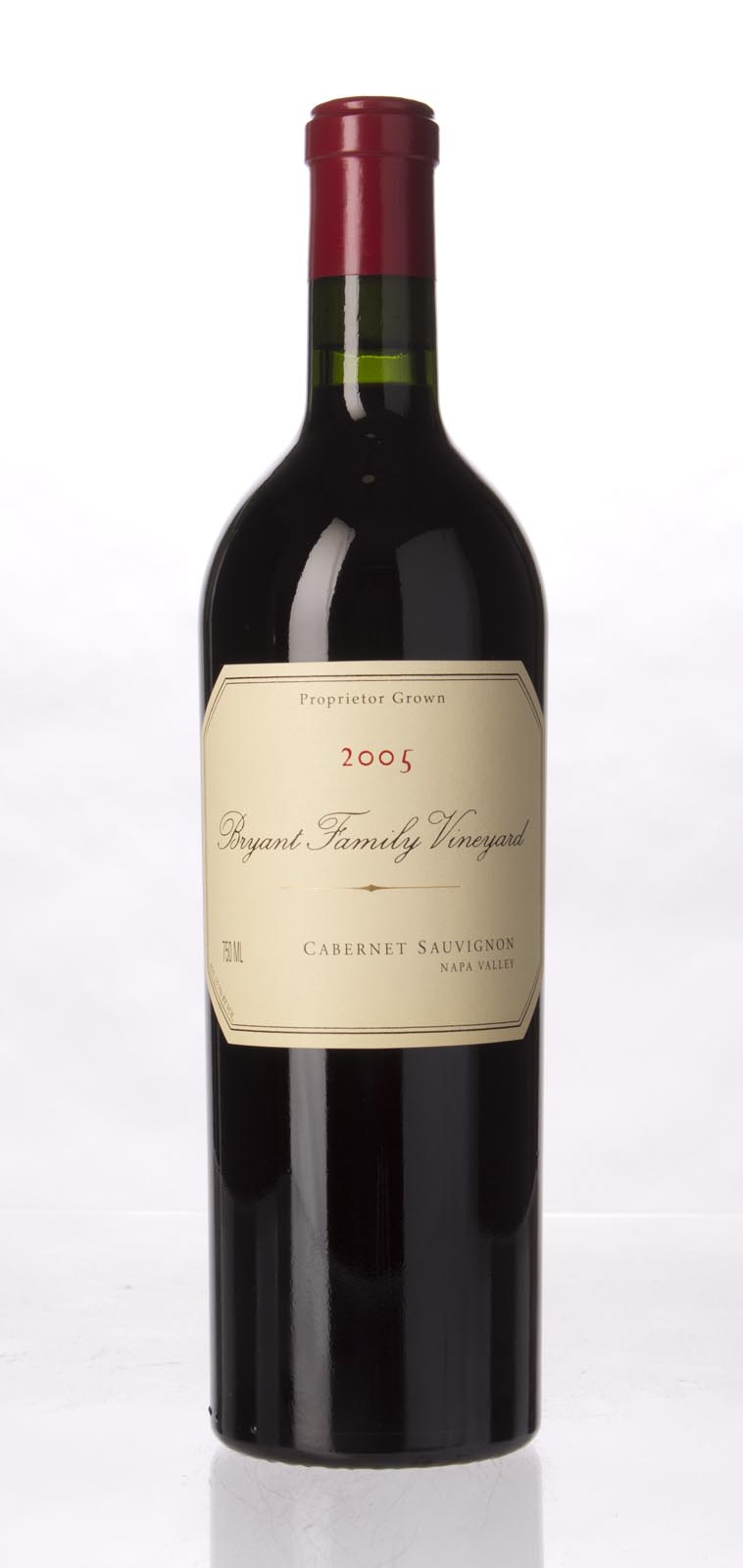 Bryant Family Vineyard Cabernet Sauvignon Pritchard Hill 2005, 750mL (WS94) from The BPW - Merchants of rare and fine wines.