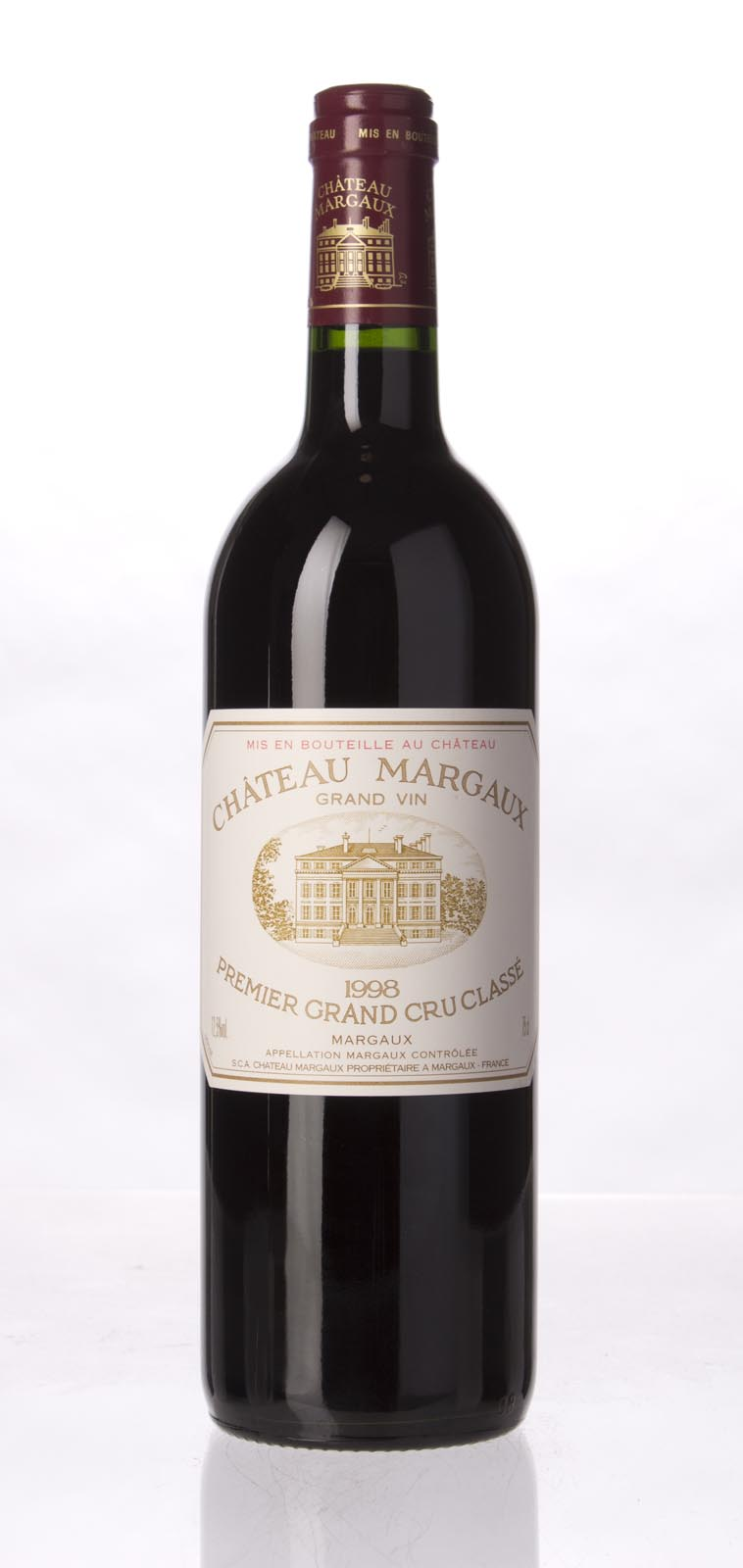 Chateau Margaux 1998, 750mL (WA91, ST92) from The BPW - Merchants of rare and fine wines.