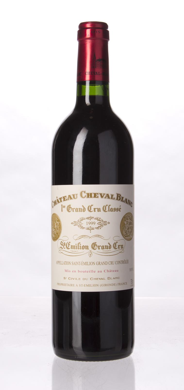 Cheval Blanc 1999, 750mL (WA93, ST92) from The BPW - Merchants of rare and fine wines.