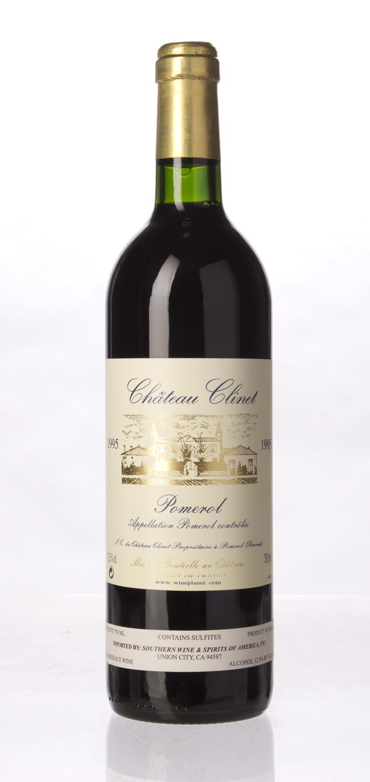 Clinet 1995, 750mL (WA96, WS95) from The BPW - Merchants of rare and fine wines.