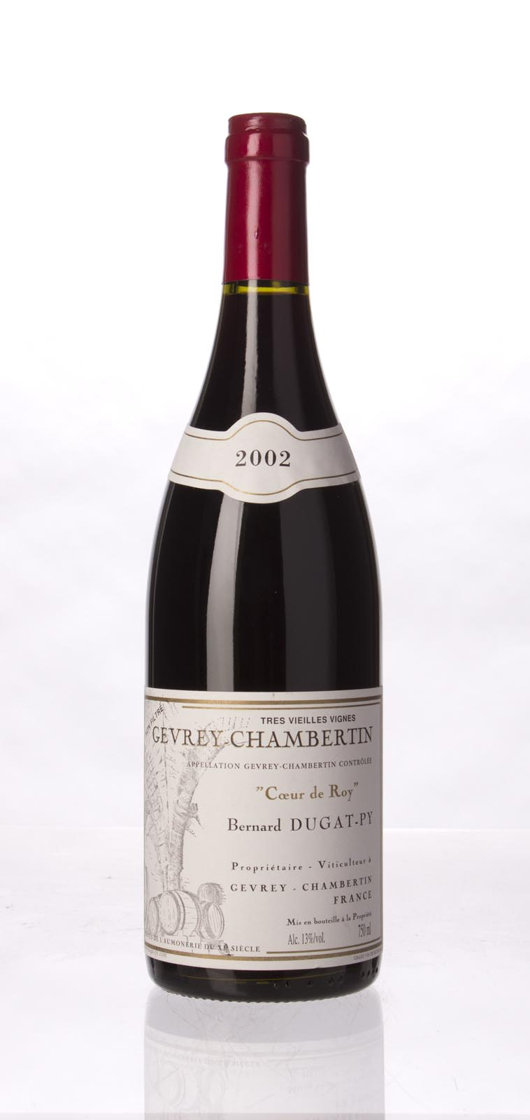 Domaine Dugat Py Gevrey Chambertin Coeur de Roy Tres Vieilles Vignes 2002, 750mL () from The BPW - Merchants of rare and fine wines.