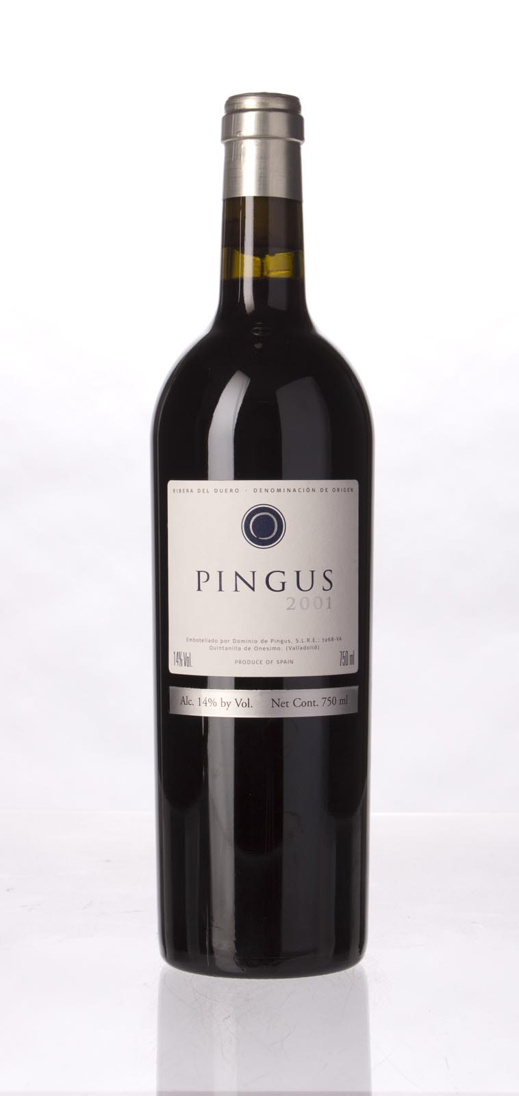 Dominio de Pingus `Pingus` 2001, 750mL (WA95, ST95) from The BPW - Merchants of rare and fine wines.