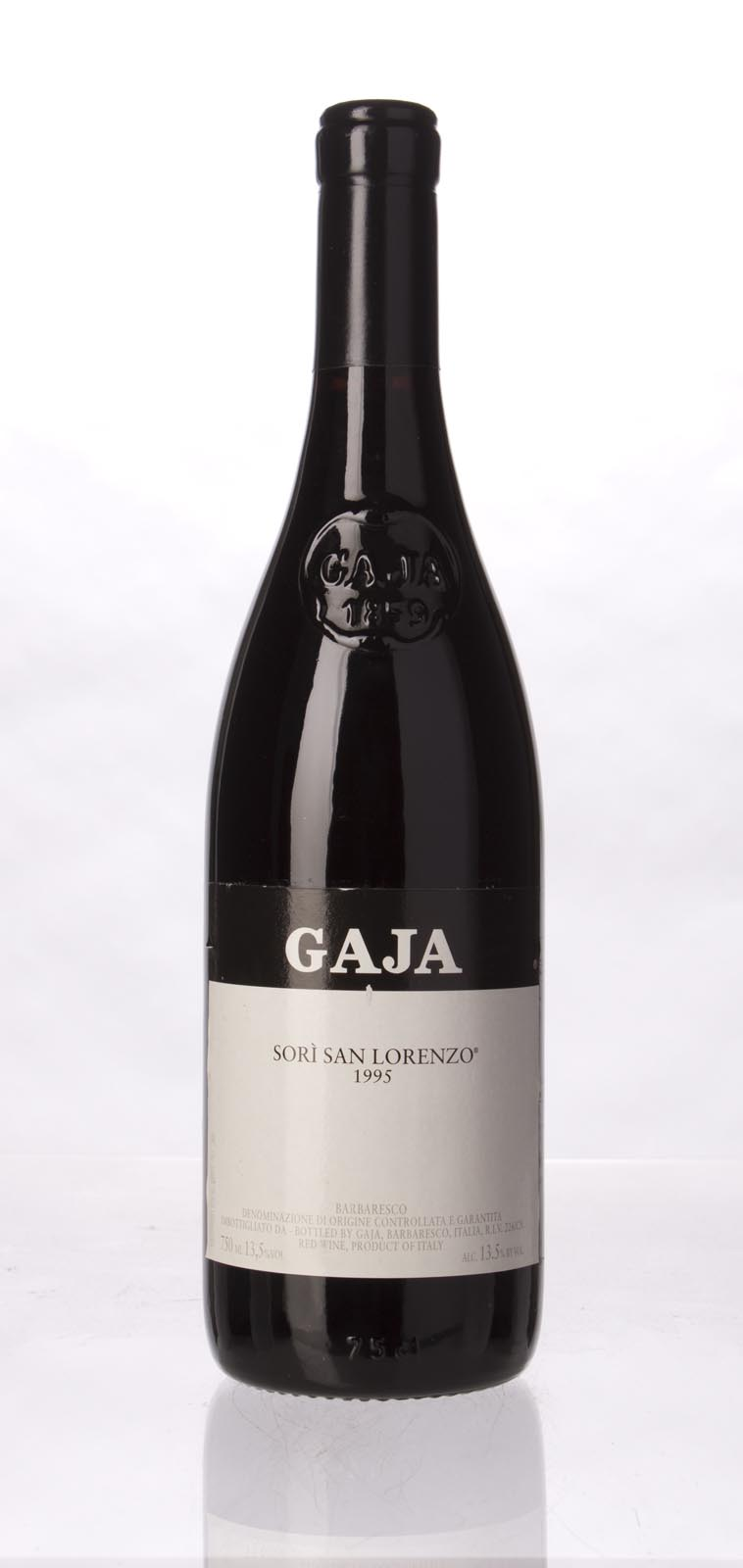 Gaja Sori San Lorenzo 1995, 750mL (WS96) from The BPW - Merchants of rare and fine wines.